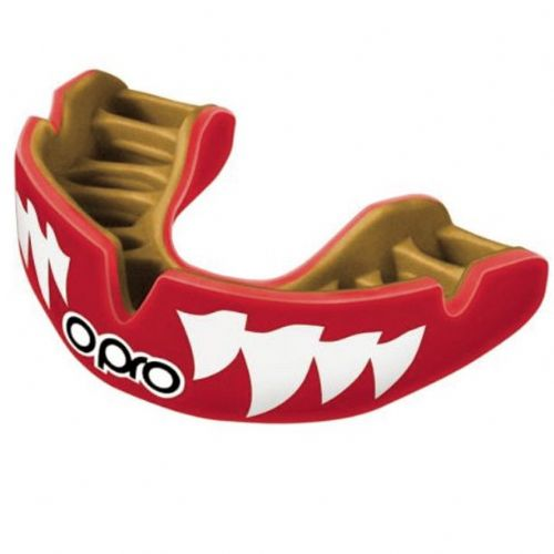 Opro Power-Fit Mouthguard - Jaws Red